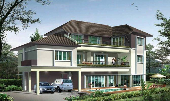 Different types of ultra modern house plans