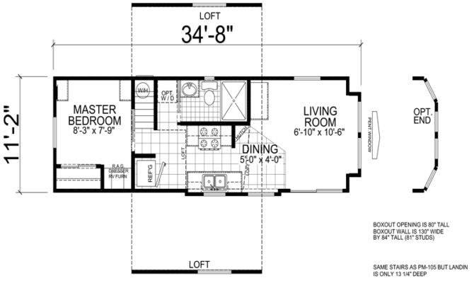 Park model home floor plans