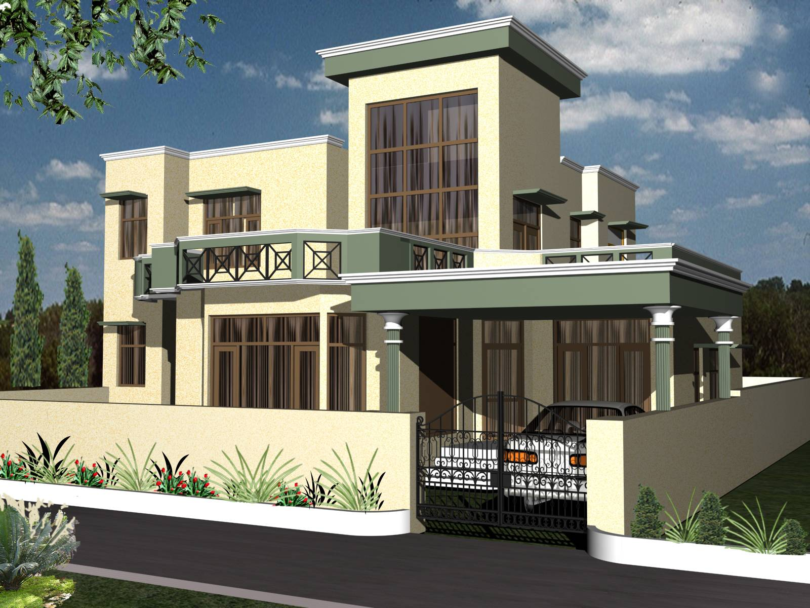 Duplex house design nigeria modern house for Blueprint designs for houses