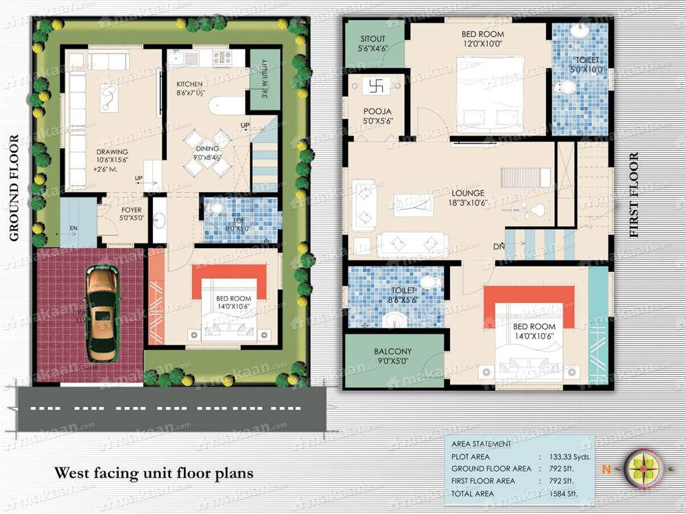 Home Design 30 X 40 HomeRiview – House Plan For 30X40 Site
