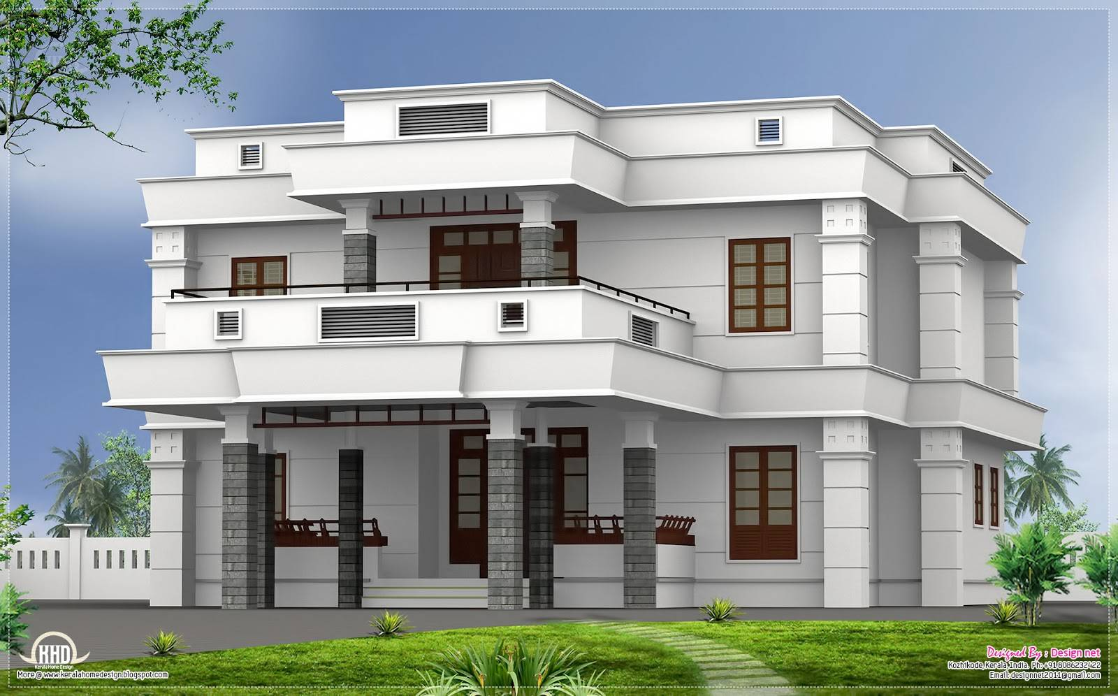 Co friendly houses bhk modern flat oof house design house