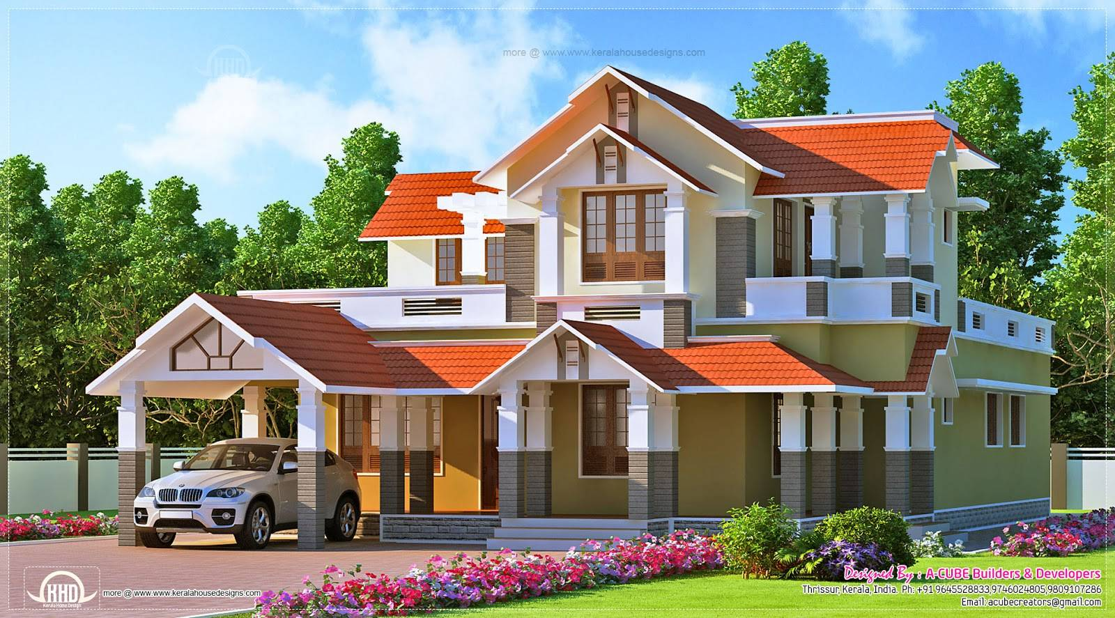 Eco Friendly House Plans Kerala House Plans