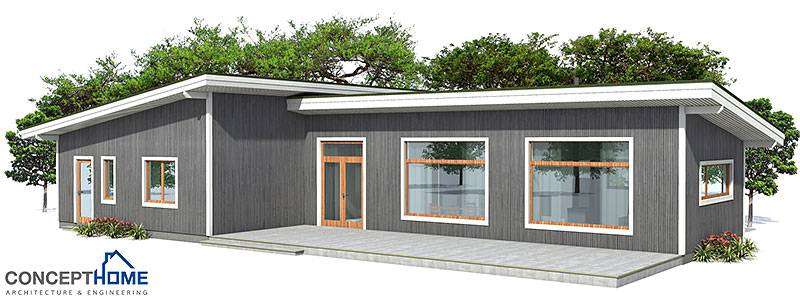 Economical House Affordable 77500 Small House Plan Ch45 Home Design With Affordable Building Budget On Affordable Home