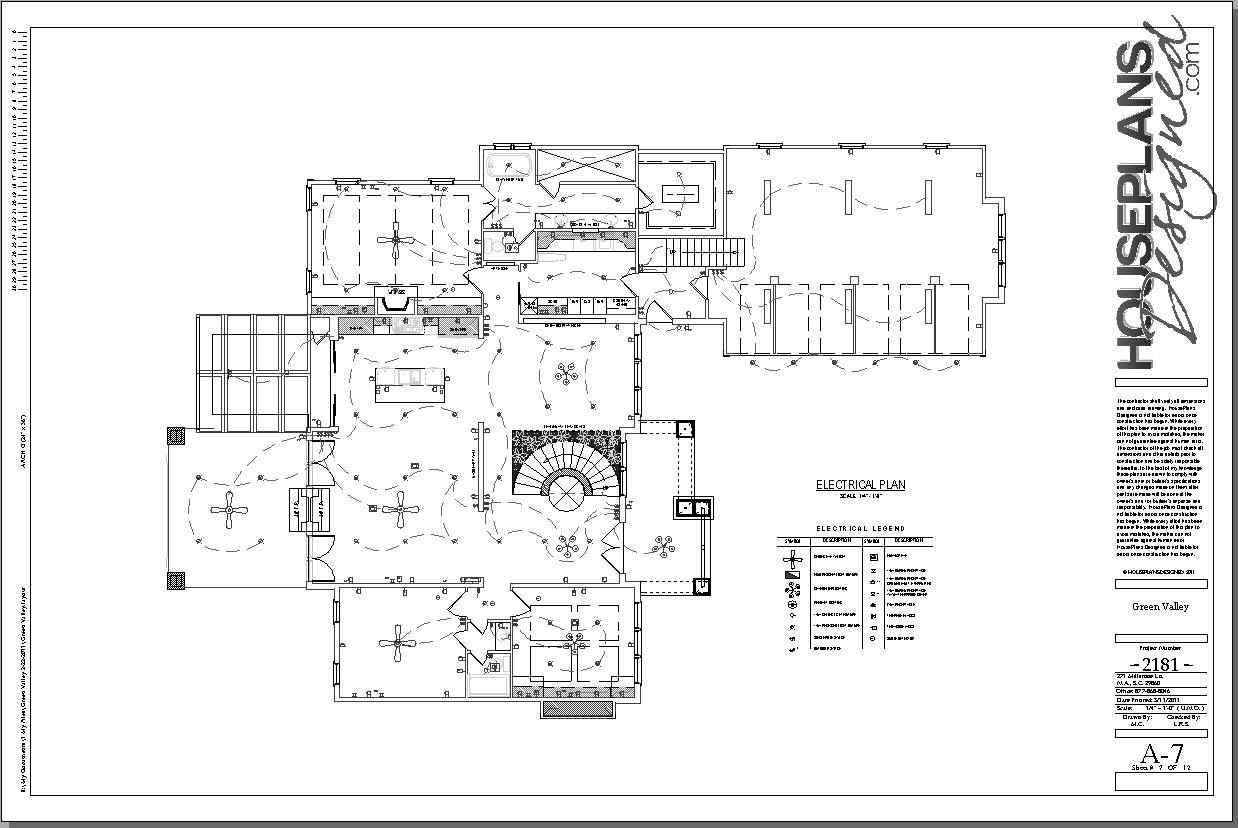 Awesome plan electric pictures images for image wire Electrical floor plan software