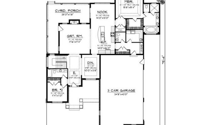 Empty Nest House Plans Empty Nester Home Plans