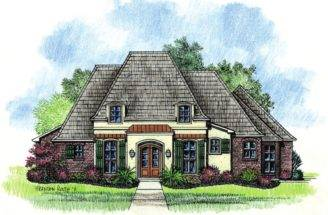 English Cottage French Country House Plans