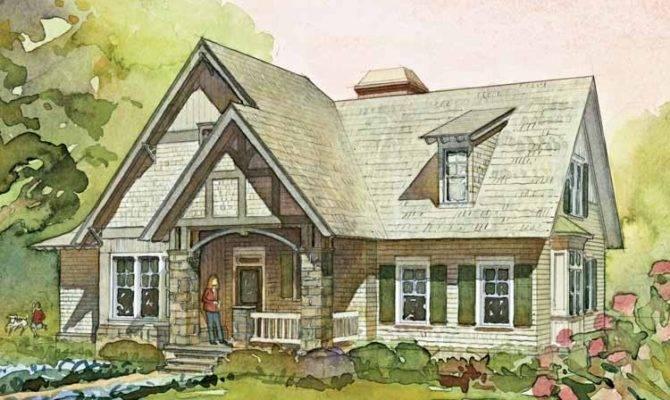 English cottage style house plan House style