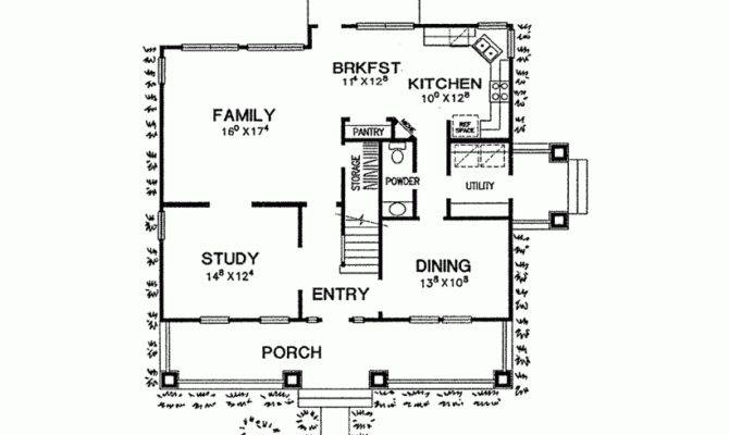 120 Early American Home Plans Plan