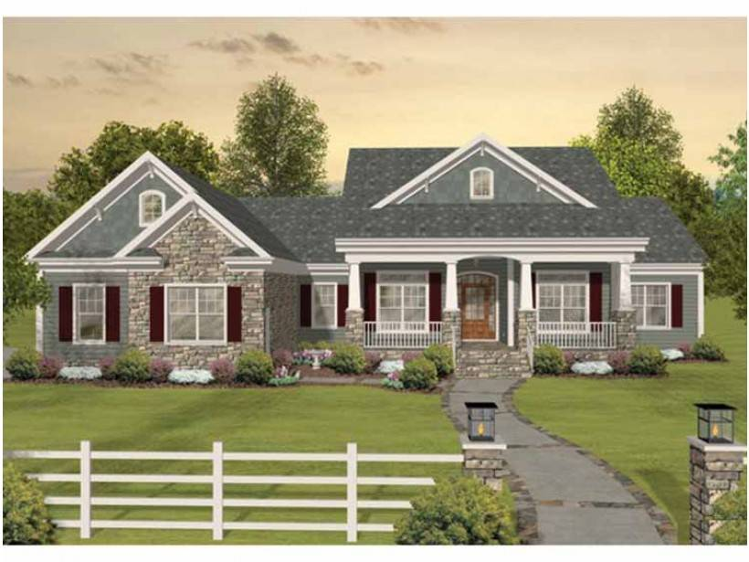 Eplans Craftsman House Plan Tons Room Expand Square 117207 Northwest House Plans Home Designs House Design Ideas