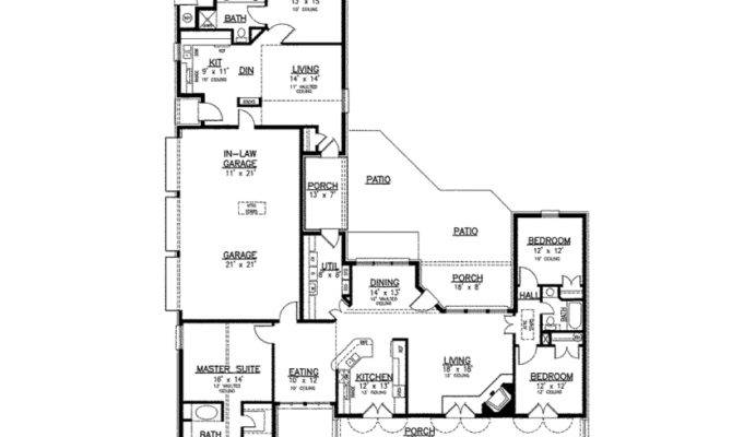 best of 16 images house plans with in law apartment
