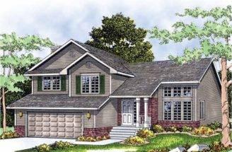 Eplans Split Level House Plan Multi Home Square Feet