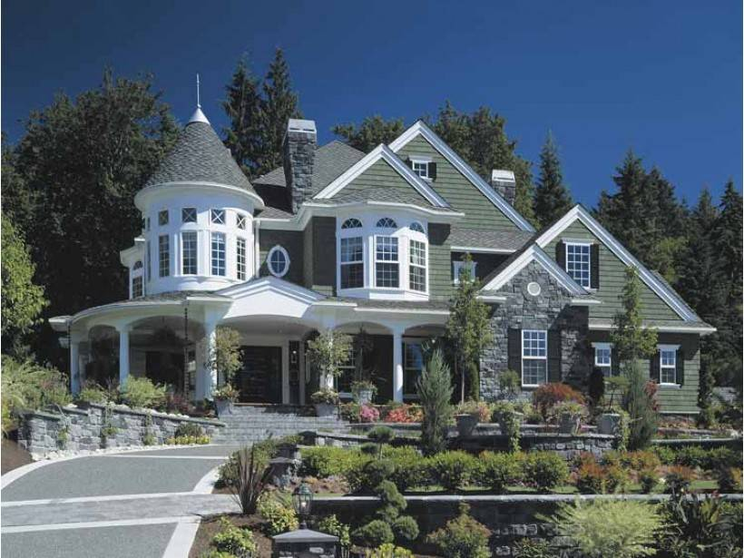 Modern victorian style houses - House modern