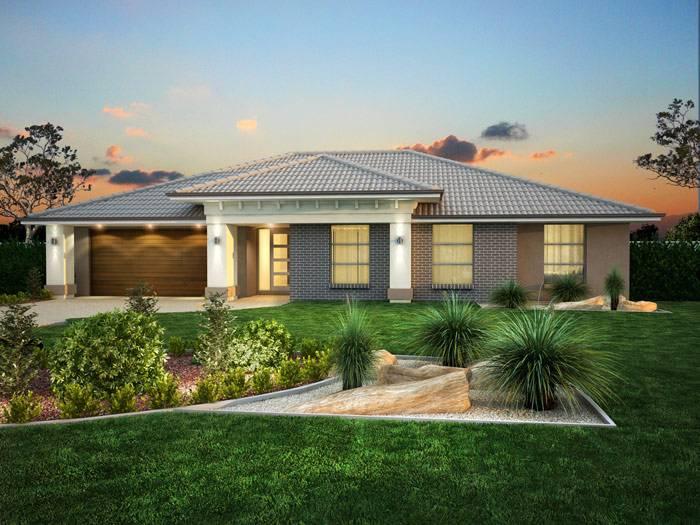 Facades Single Storey House Plans Home Designs Custom Single Story Zimmerman Homes House Plans 58456