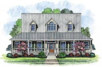 Farm House Acadian Plans Cottage Home