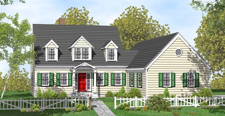 Cape Cod Architecture House Plans