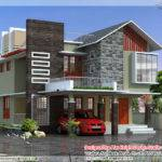 feet contemporary modern home design - New Contemporary Home Designs
