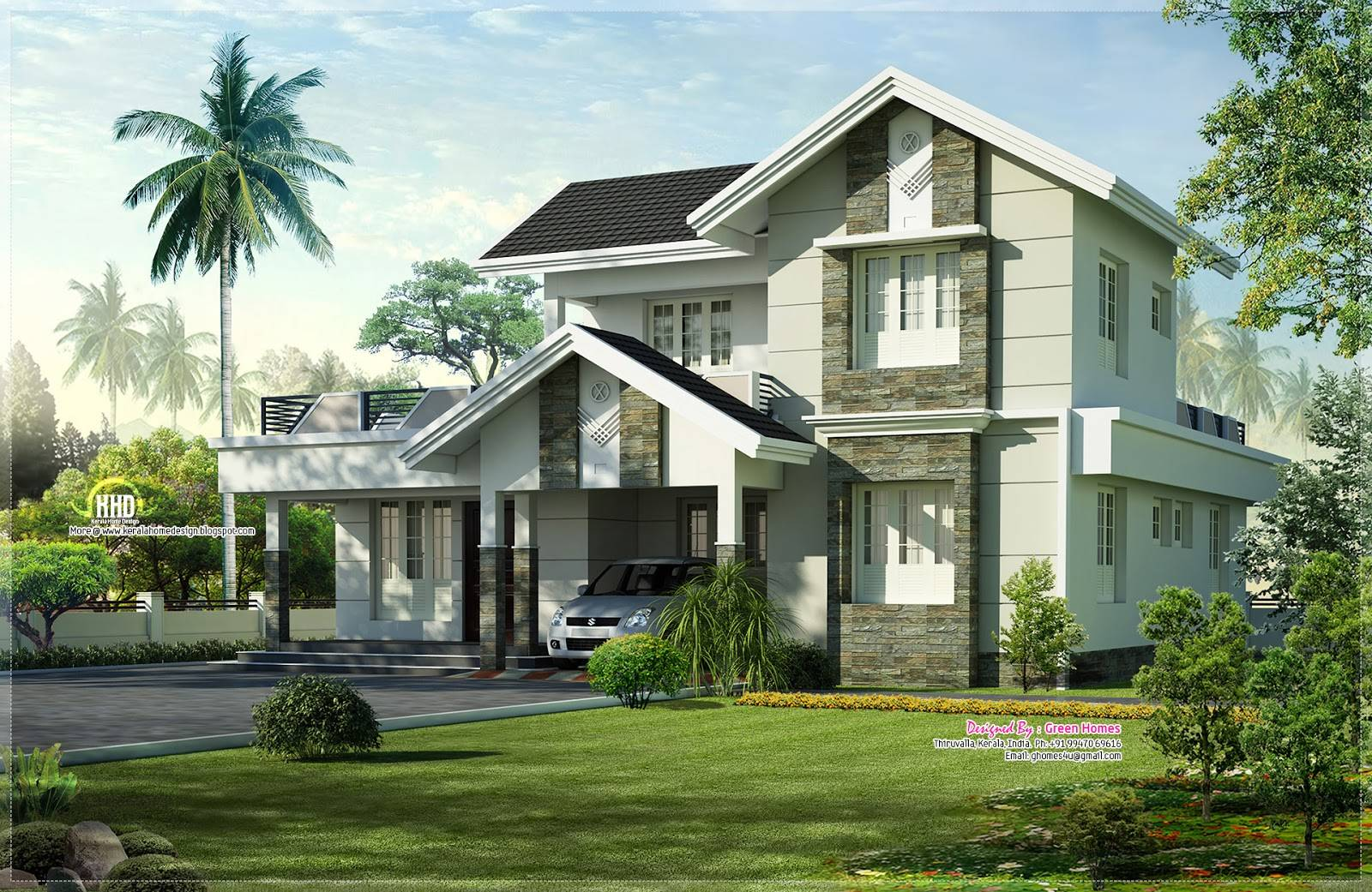 Exterior design for homes