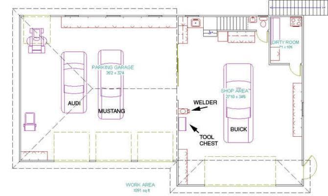 21 surprisingly garage workshop floor plans house plans 25 best ideas about workshop layout on pinterest