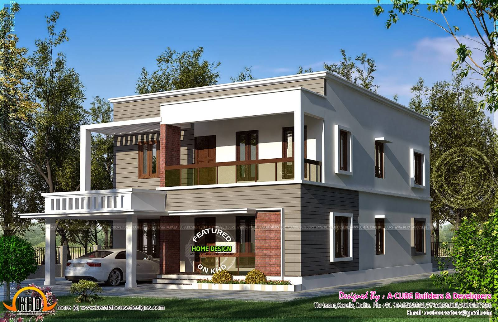 30 Photos nd Inspiration Flat oof House Plans Design - House ... - ^