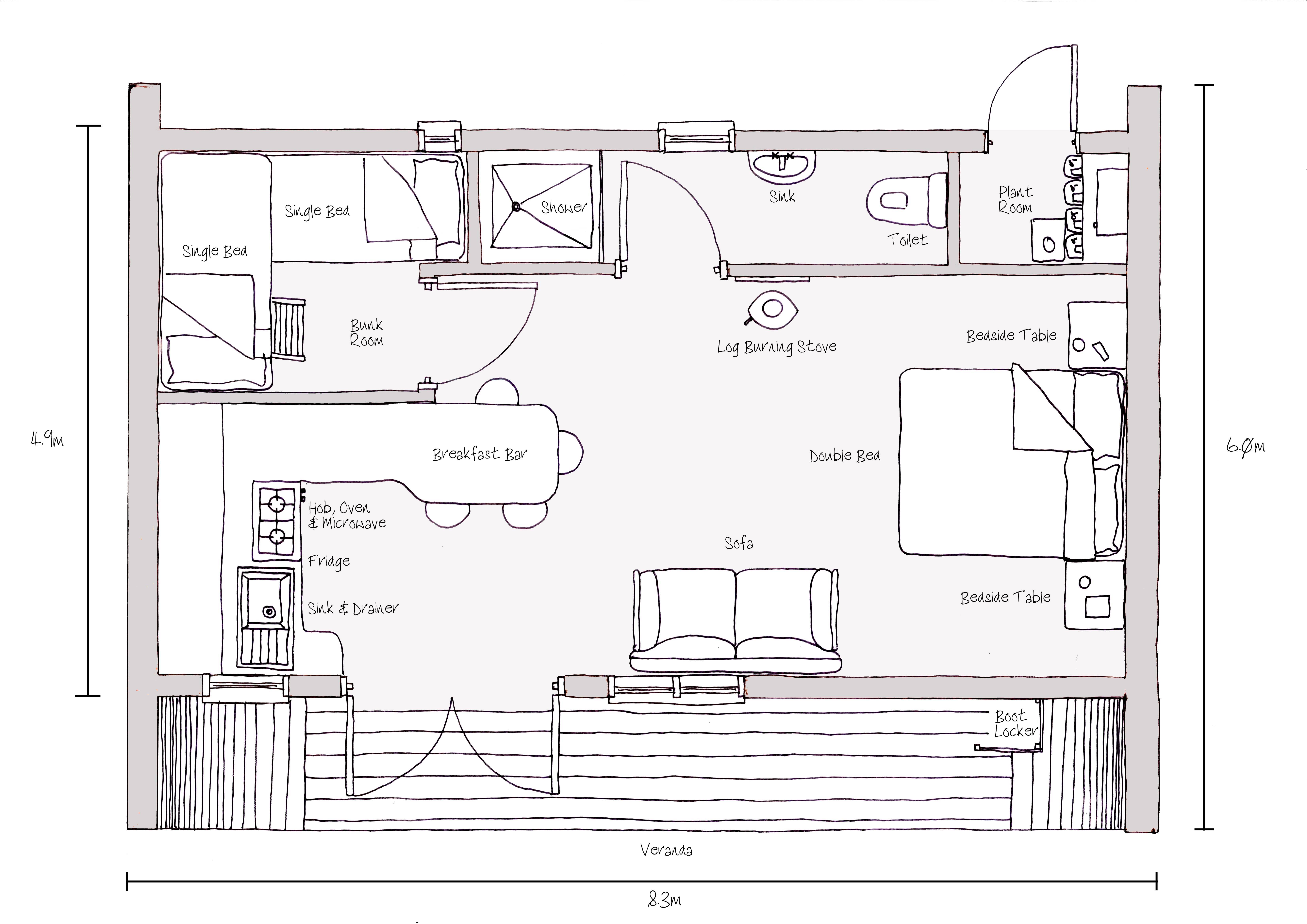 Sketch House Plans Inspiration House Plans 46528