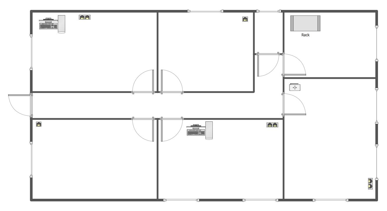 Floor Plan Template Blank Plans Templates House Plans