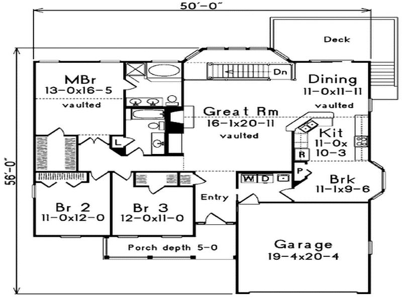 Floor Plans Designed Southern Living Garage House Plans 36323