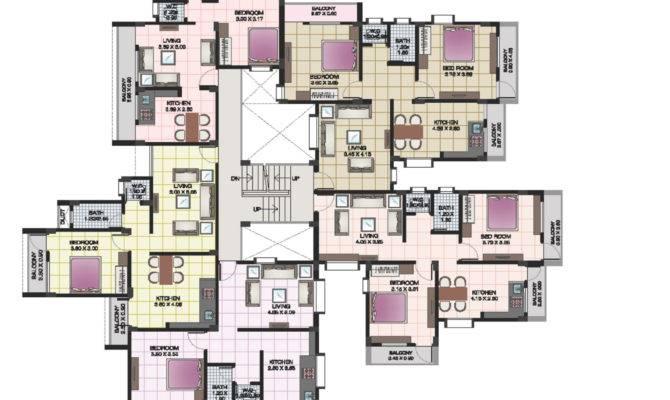 24 Genius Plan Of Apartments House Plans 85318