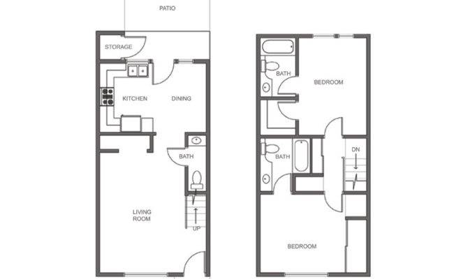 2 story apartment house plans