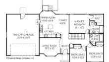 Floor Plans Simple Ranch House Home Plan