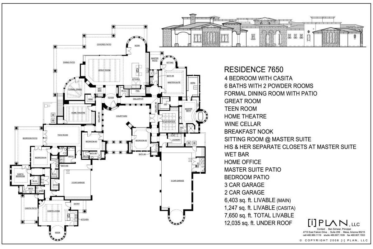 Easy To Read House Plans House Plans