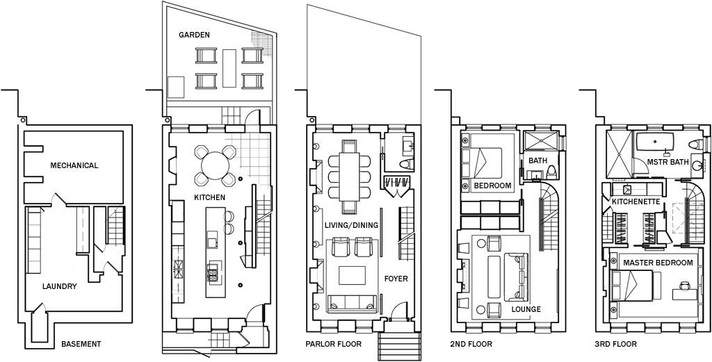 Old Victorian Townhouse Floor Plans Victorian Home Plans