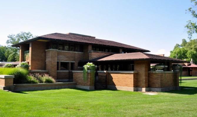 Attractive Prairie Ranch House Plans #4: Frank-lloyd-wright ...