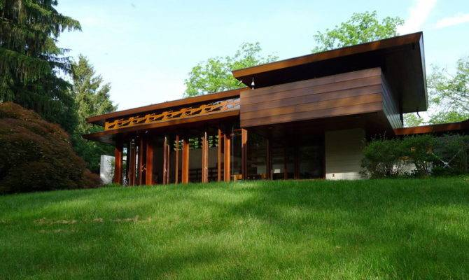 Stunning Frank Lloyd Wright Prairie House Plans Ideas