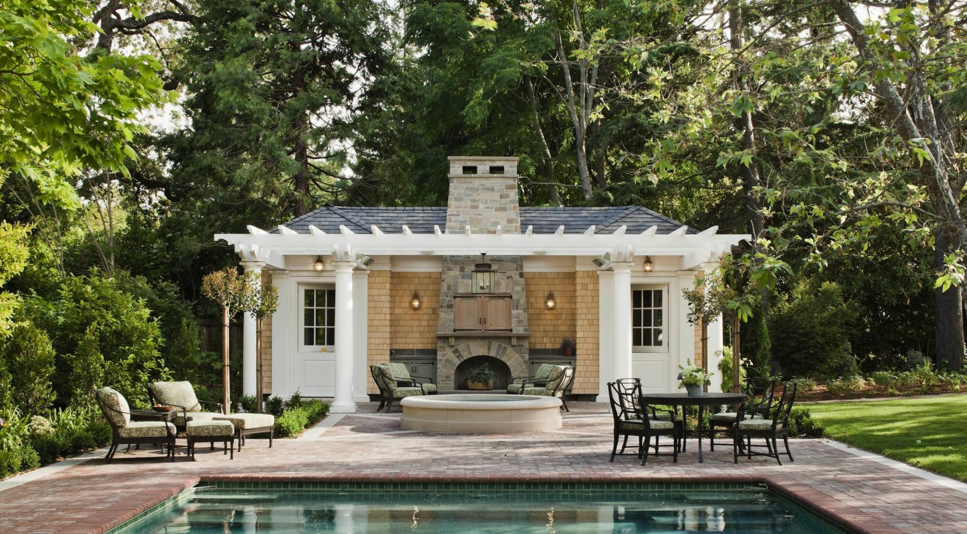 French ountry Style Kitchen House Victorian Pool - House Plans ... - ^