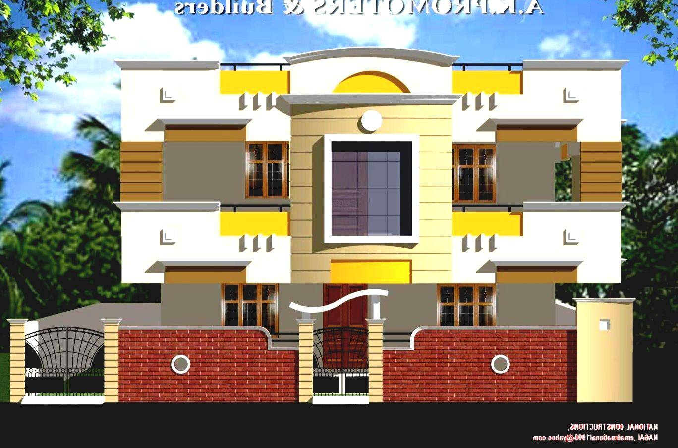 home design ideas_169922 house front home elevation design india house ...