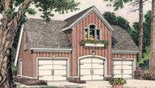Garage Apartment Plans Country Style Carriage House Plan