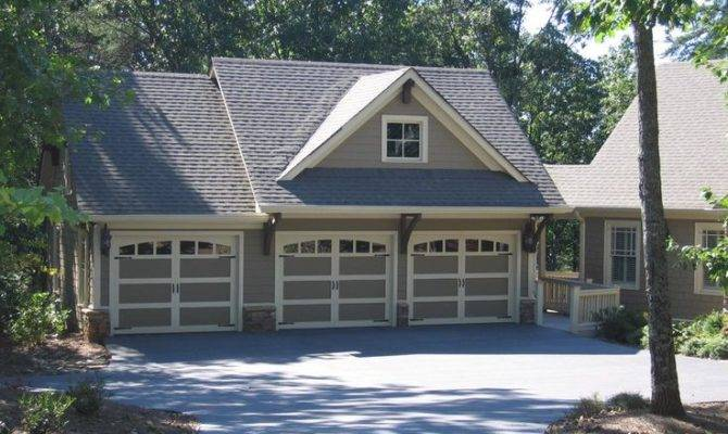 16 Artistic Garages With Living Space Above House Plans