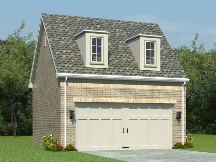 Garage Loft Plans Car Plan Gable Roof House Plans 35615