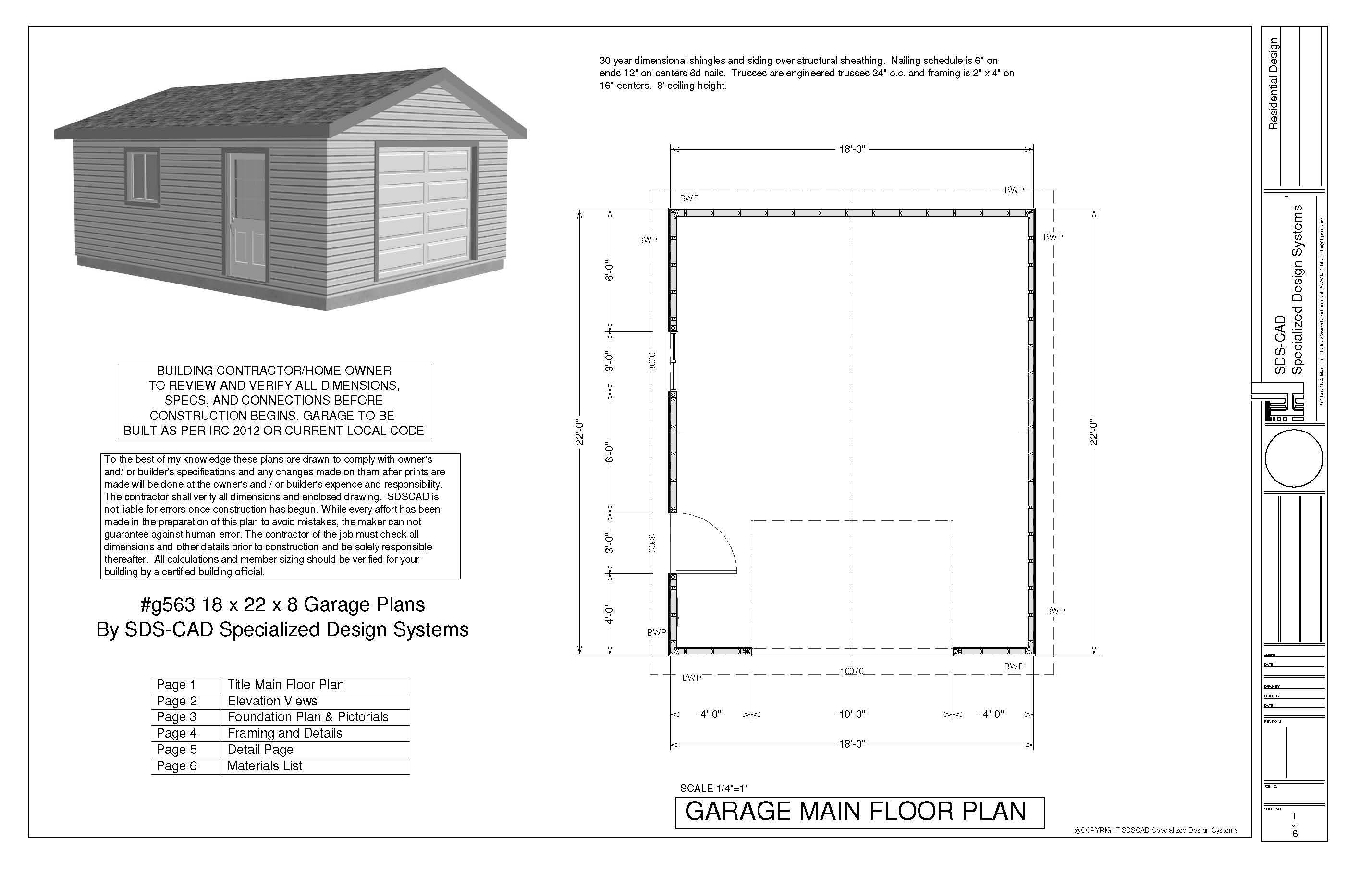 Garage Plans Diy Pdf Storage Building House Plans 9199