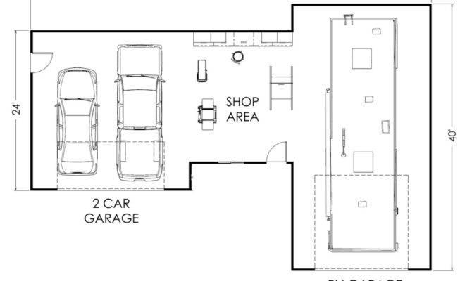 Shop Blueprints Ideas House Plans 70387
