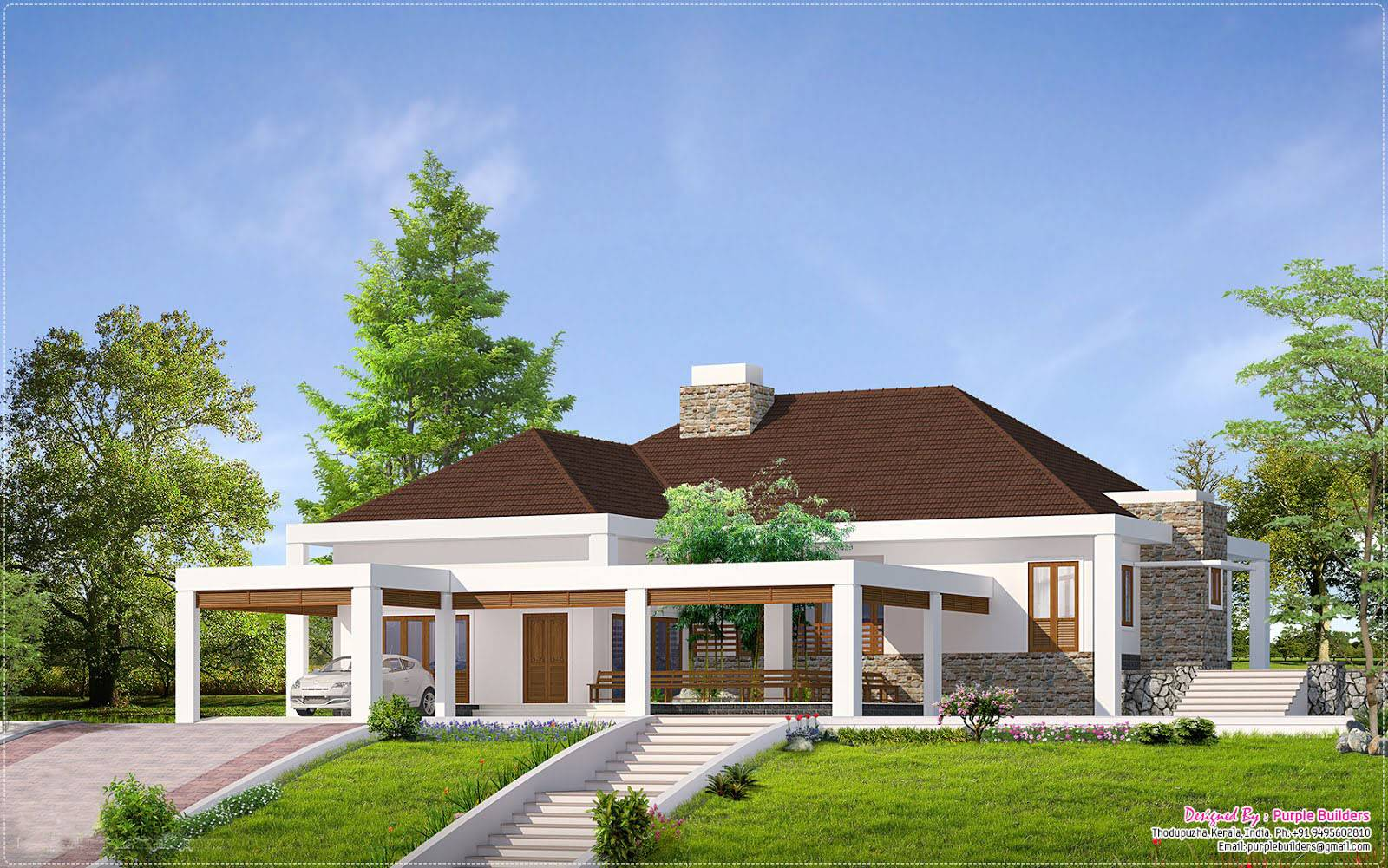 given home facilities kerala house elevation inspiring best single storey house design 23 photo house - Single Home Designs
