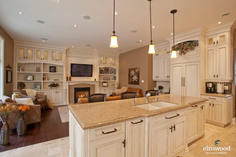 Gorgeous Open Concept Kitchen Living Room Elmwood Kitchens House – Elmwood Kitchens