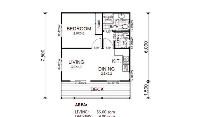 25 genius granny flat floor plans 1 bedroom - house plans | 30457