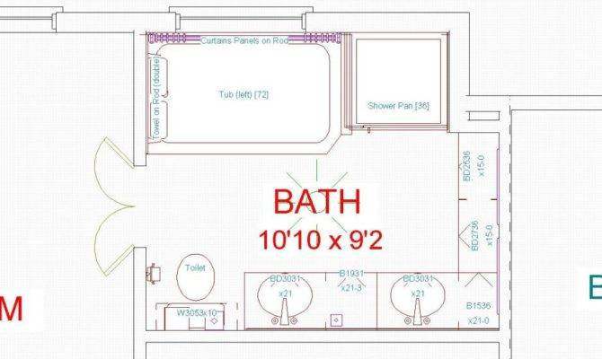 Stunning 20 Images Master Bathroom Designs Floor Plans - House