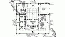 Hacienda Style Home Plans Courtyards Improvement