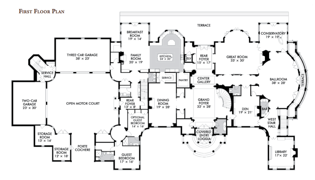 Here Floor Plans Some America Grandest Homes 232478 Buying House Plans Online 8 On Buying House Plans