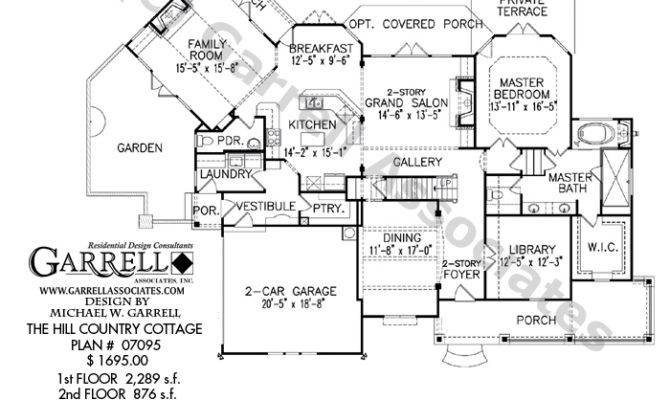 Hill country home plans