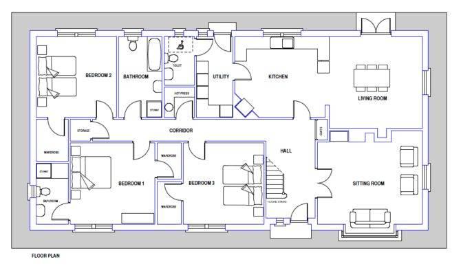 Sample Blueprint Of A House Blueprint Home Plans Ideas Picture
