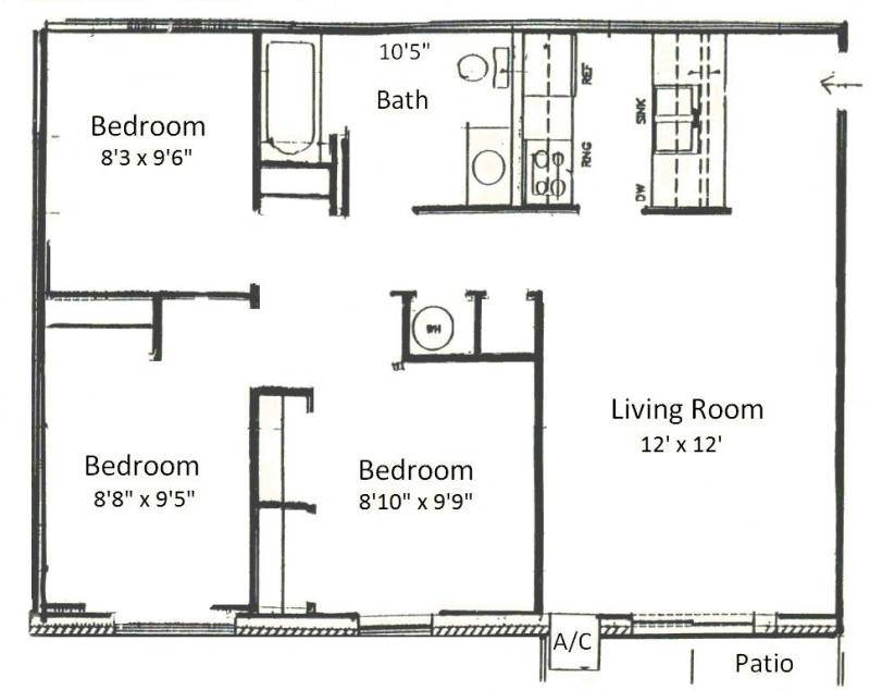 Simple Bedroom Blueprint simple floor plans for 3 bedroom house. simple. printable & free