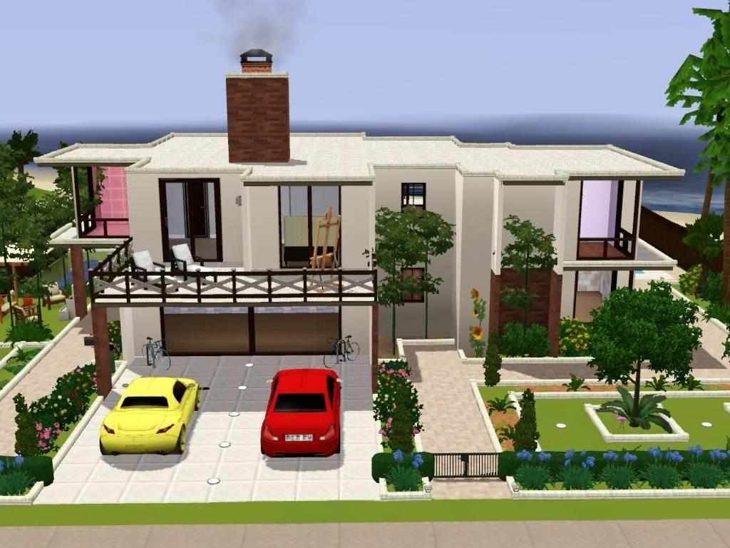 Sims Modern House Ideas Joy Studio Design Best - House Plans #61965 - ^